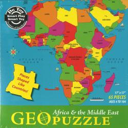 Africa & the Middle East, Political, puzzle by
