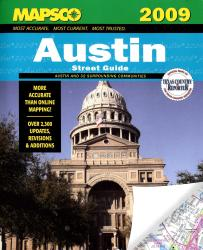 Austin, Texas, Street Guide by Kappa Map Group