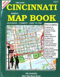 Cincinnati, Ohio, Street Map Atlas by GM Johnson