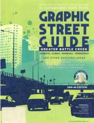 Battle Creek, Michigan, Greater, Graphic Street Guide by Metro Graphic Arts