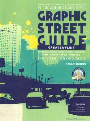 Greater Flint, Michigan Graphic Street Guide by