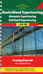 Germany, Supertouring Atlas by Freytag, Berndt und Artaria