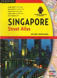 Singapore Street Atlas by Tuttle publishing