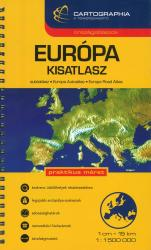 Europe, Road Atlas (Hungarian ed.) by Cartographia