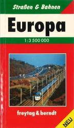 Europe, Pocket Road Atlas (German edition) by Freytag-Berndt und Artaria