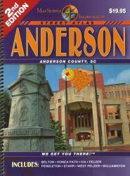 Anderson County, South Carolina Atlas by Apple Valley Publishing