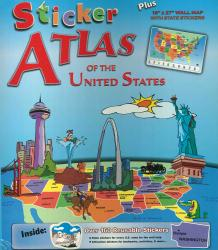 United States, Sticker Atlas by Broader View