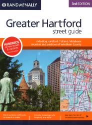 Hartford and New Haven Counties, CT Street Guide (Spiral Bound) by Rand McNally