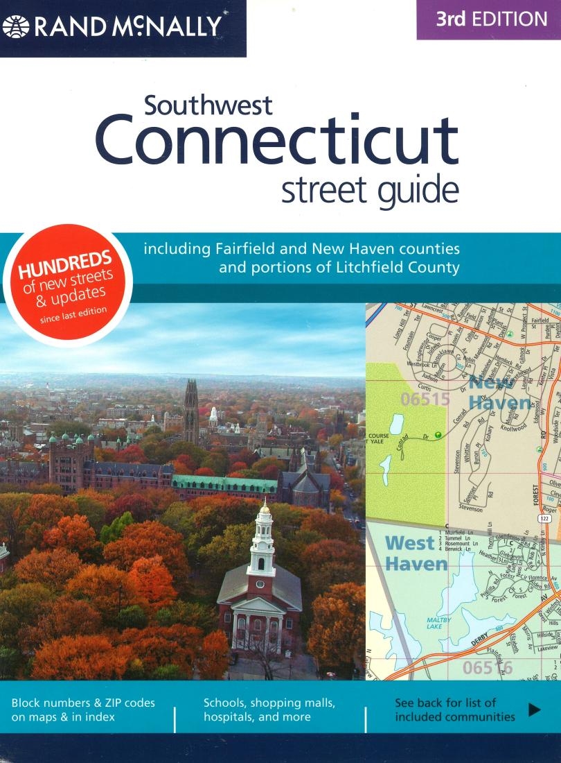 Fairfield and New Haven Counties, CT Street Guide (Spiral Bound) by ...