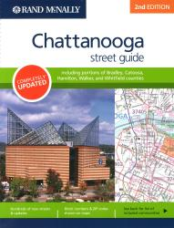 Chattanooga, TN Street Guide (Spiral Bound) by Rand McNally