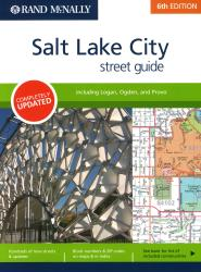 Salt Lake City, Utah Street Guide by Rand McNally