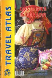 Costa Rica & Panama Atlas by International Travel Maps