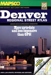 Denver, Colorado, Regional Atlas by Kappa Map Group