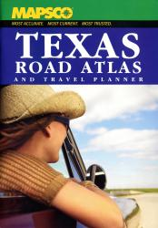 Texas, Road Atlas and Travel Planner by Kappa Map Group