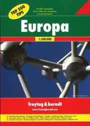 Europe, Great Road Atlas, Hardcover by Freytag, Berndt und Artaria