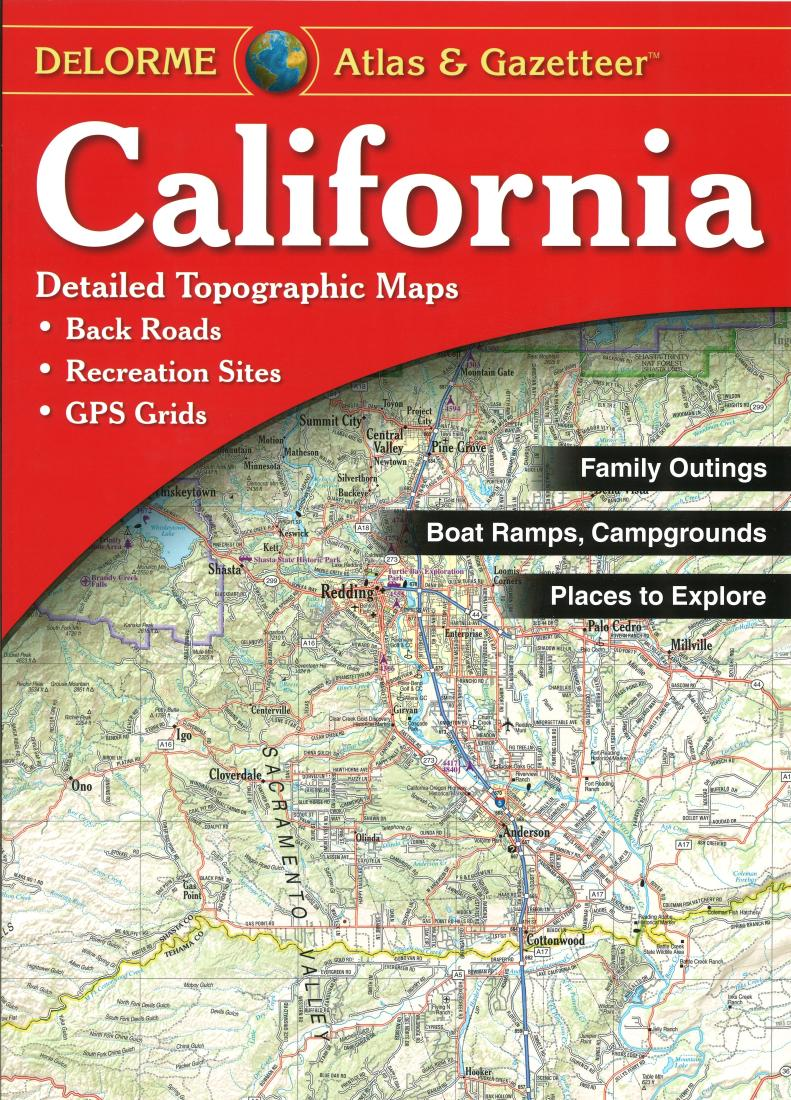 Rand Mcnally Gps >> California Atlas and Gazetteer by DeLorme