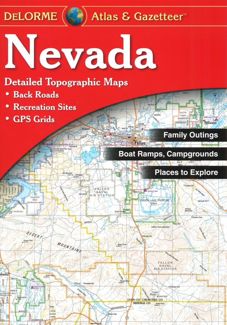 Nevada Atlas and Gazetteer by DeLorme
