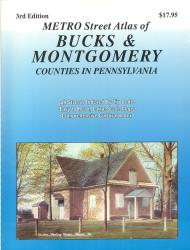 Bucks and Montgomery Counties, Pennslyvania Atlas by Franklin Maps