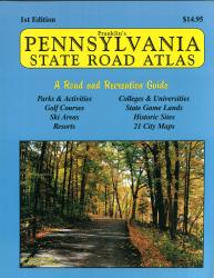 Pennsylvania Atlas by Franklin Maps