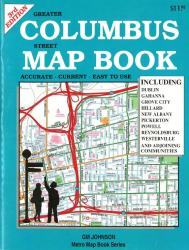 Columbus, Ohio, Street Map Book, 3rd edition by GM Johnson