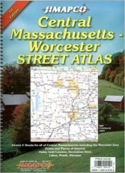 Massachusetts, Central, Atlas by Jimapco