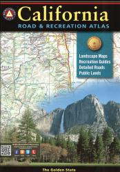 California Road and Recreation Atlas by Benchmark Maps