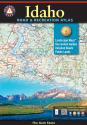Idaho Road and Recreation Atlas by Benchmark Maps