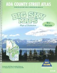 Ada County, Idaho, Atlas by Big Sky Maps