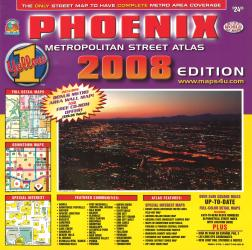 Phoenix, Arizona Metropolitan Street Atlas by Wide World of Maps