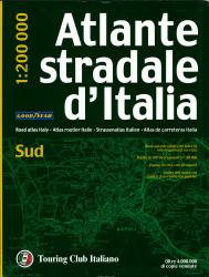 Italy, Southern Road Atlas by Touring Club Italiano
