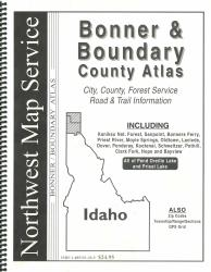 Bonner and Boundary County, Idaho Atlas by Northwest Map Service