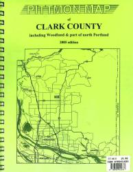 Clark County, Washington Atlas by Pittmon Map Company