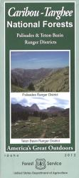 Caribou-Targhee National Forest Map by United States Forest Service