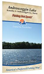 Androscoggin Lake Fishing Map by Fishing Hot Spots