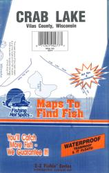 Crab Lake Fishing Map by Fishing Hot Spots