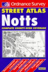 Notts Street Atlas by Ordnance Survey