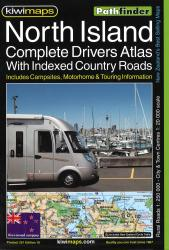 North Island, New Zealand, Drivers' Atlas by Kiwi Maps