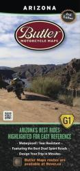 Arizona G1 Map by Butler Motorcycle Maps