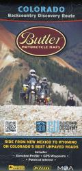 Colorado Backcountry Discovery Route by Butler Motorcycle Maps