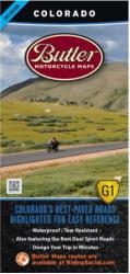 Colorado G1 Map by Butler Motorcycle Maps