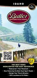 Idaho G1 Map by Butler Motorcycle Maps