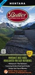 Montana G1 Map by Butler Motorcycle Maps
