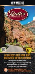 New Mexico G1 Map by Butler Motorcycle Maps