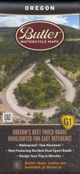 Oregon G1 by Butler Motorcycle Maps