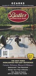 Ozarks by Butler Motorcycle Maps