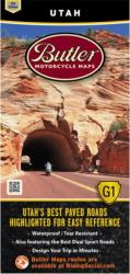 Utah G1 Map by Butler Motorcycle Maps