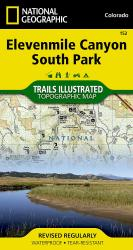 Elevenmile Canyon and South Park, CO, Map 152 by National Geographic Maps