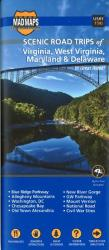 Virginia, West Virginia, Maryland and Delaware, Scenic Road Trips by MAD Maps