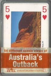 Australia's Outback, playing cards by Hema Maps
