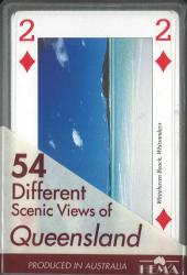 Queensland, Australia, playing cards by Hema Maps
